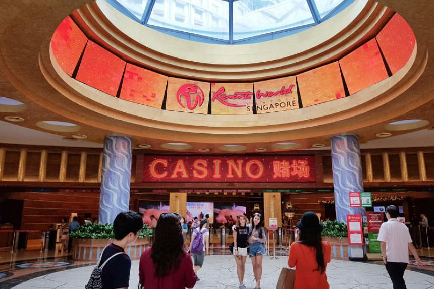 Mr Christopher de Souza said Singapore should consider if the country needs casinos at all in today's economic climate.
