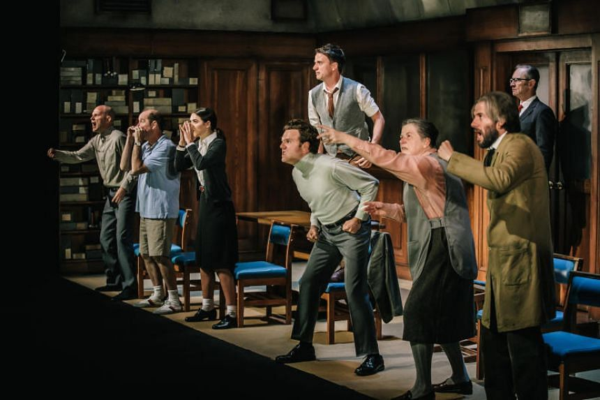 Eleven shows, including a stage adaptation of George Orwell's 1984 (above), were sold out at this year's Singapore International Festival of Arts.