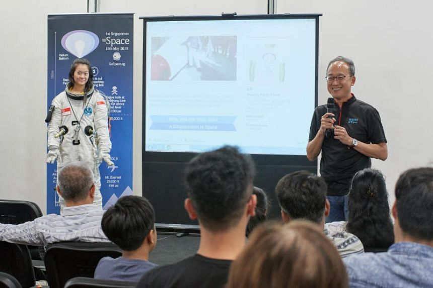 In.Genius founder and director Lim Seng (above) said he would proceed when winds next allow.