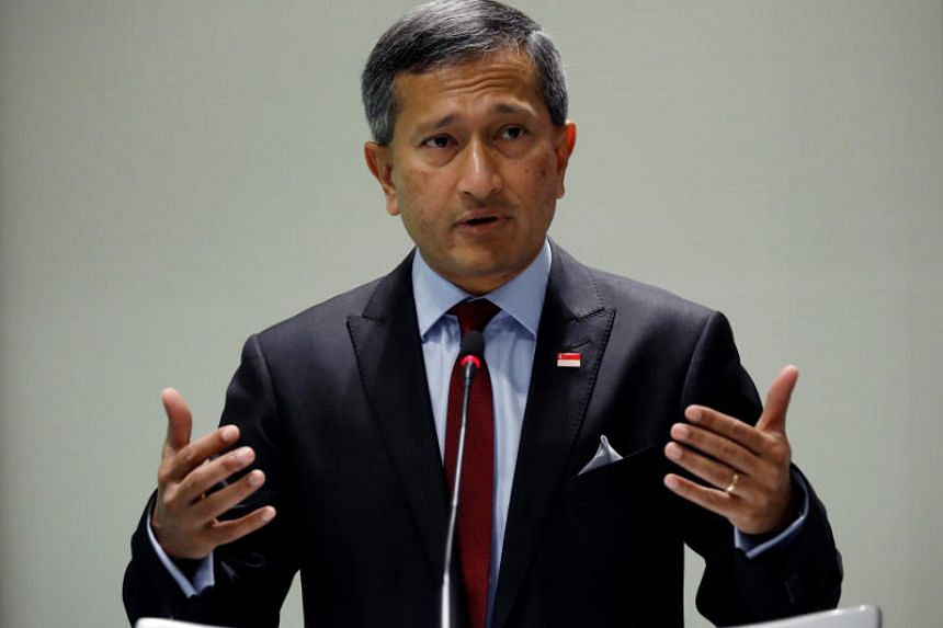 Foreign Minister Vivian Balakrishnan said that Singapore, as a small country, believes in multilateralism, the rule of law, and peaceful dispute resolution.