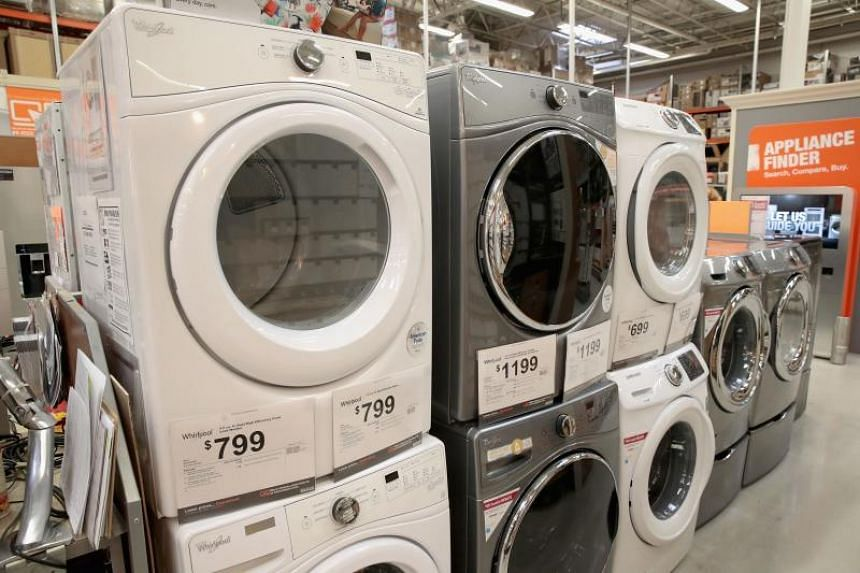US President Donald Trump slapped a steep tariff on imported washing machines and solar panels in February 2018 to protect American manufacturers.