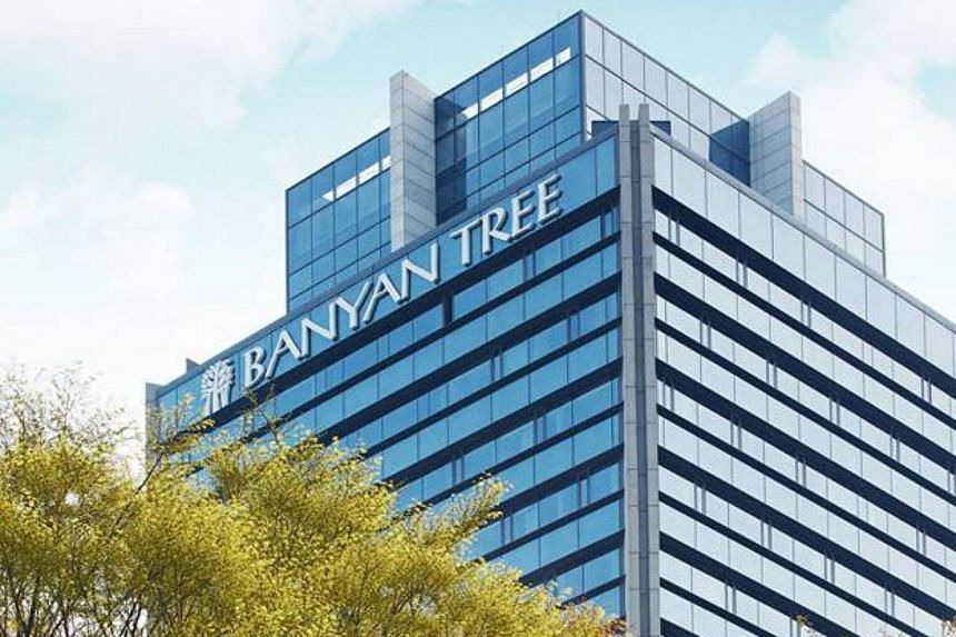 Banyan Tree Holdings' revenue for the quarter rose by 9 per cent to $98.2 million.
