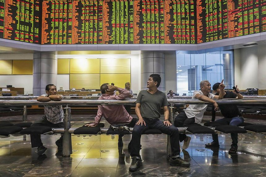 The Kuala Lumpur Composite Index dropped 2.6 per cent soon after the opening bell, but shares rallied to close 3.91 points higher at 1,850.42.