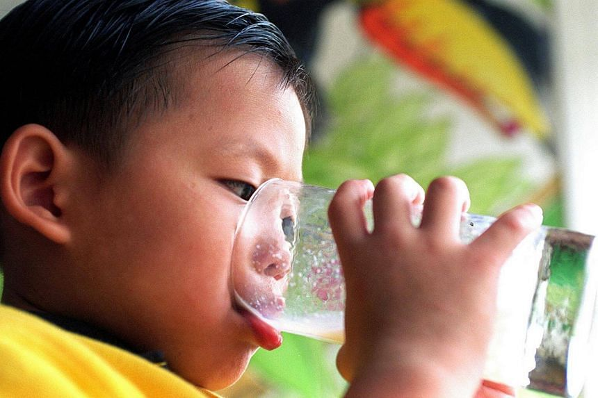 Children should have six to eight beverages - ideally, water or milk - per day, though the amount needed varies with a child's age.