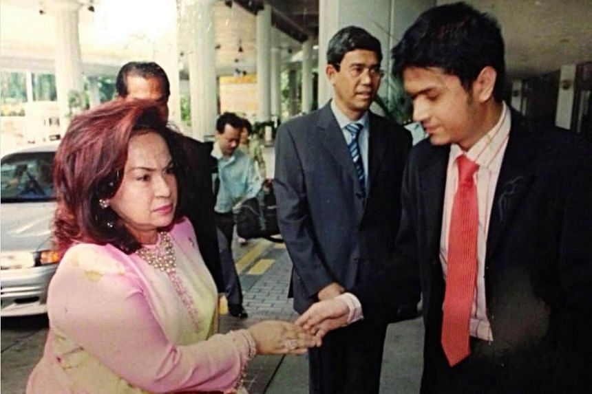Datuk Fazley Yaakob (right) said he and his wife, Azrene, had never harboured ill feelings towards his mother-in-law Datin Seri Rosmah Mansor, and had always regarded her as their biological mother.