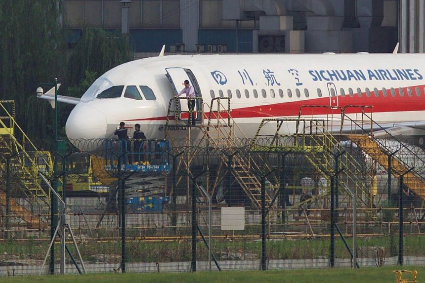 The windshield shattered about half an hour after the plane took off from Chongqing, on May 14, 2018.