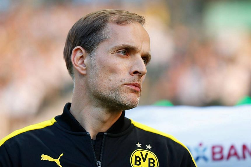 Coach Thomas Tuchel in a file photo taken in Berlin, Germany, on May 27, 2017.