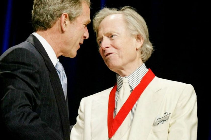 Author Tom Wolfe died of an unspecified infection in a New York City hospital on May 14, 2018.