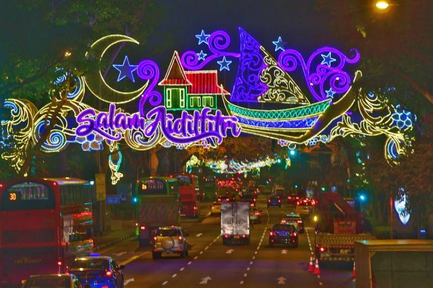 The Hari Raya Light-Up in Geylang Serai on May 10, 2018, ahead the Muslim holy month of Ramadan.
