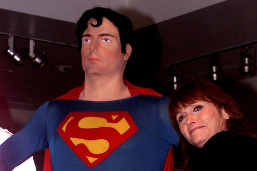Actress Margot Kidder at the Superman movie reunion at the Warner Bros. museum in Burbank, California, US on May 1, 2001.