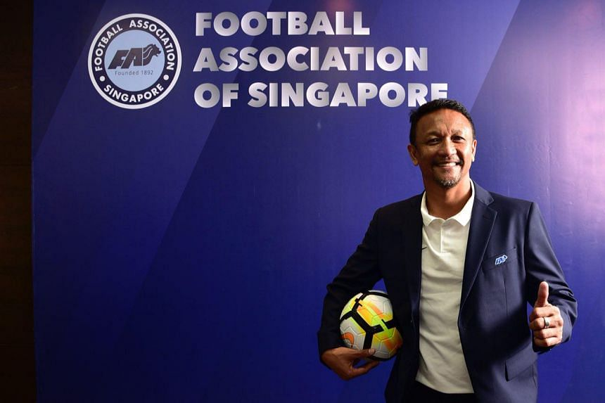 Fandi Ahmad succeeds V. Sundram Moorthy, who stepped down after almost two years in charge on April 9, 2018.