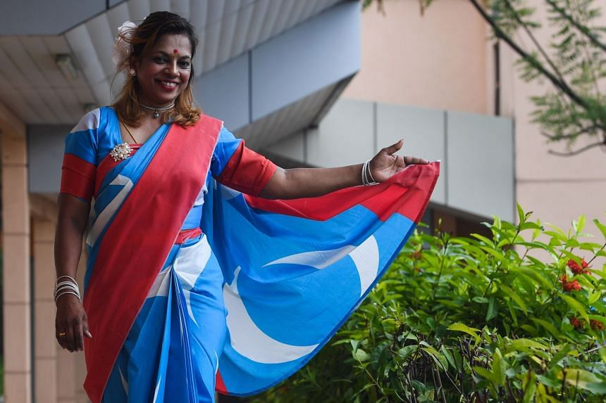 Devamalar R. Mugam turned up at the Cheras Rehabilitation Centre in Kuala Lumpur on May 15, 2018, in a specially made sari in the colours of the Parti Keadilan Rakyat's logo only to find out that the party's de facto leader Anwar Ibrahim was not bein