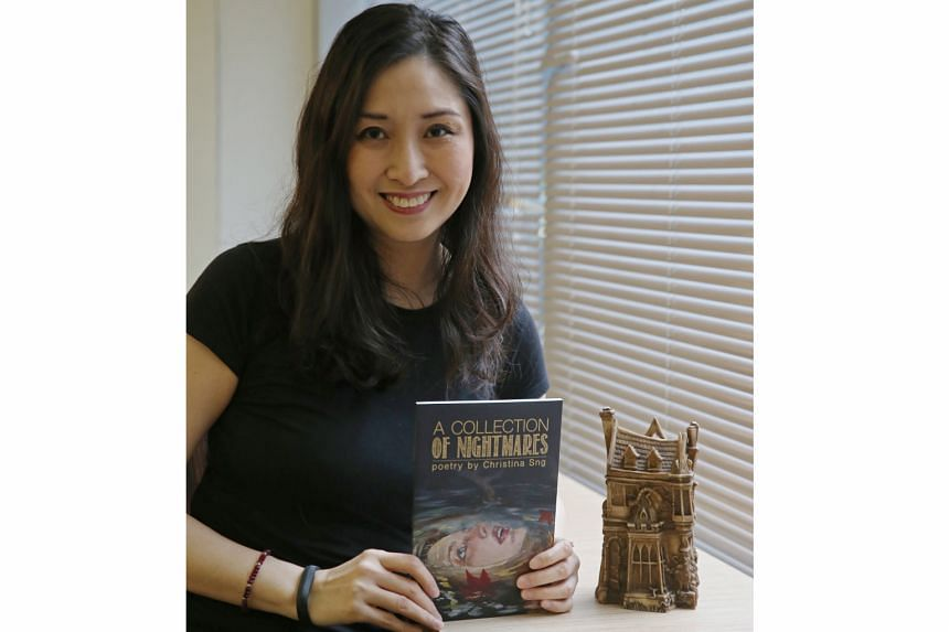 A fan of horror, poet Christina Sng wrote A Collection Of Nightmares (2017) and won the Bram Stoker Award for it.