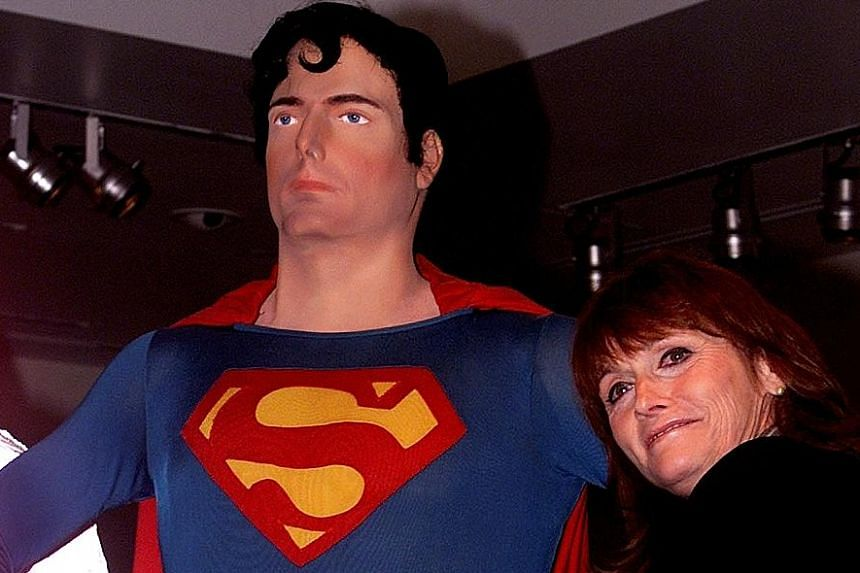 Actress Margot Kidder (in a 2001 photo) starred in Superman with Christopher Reeve.