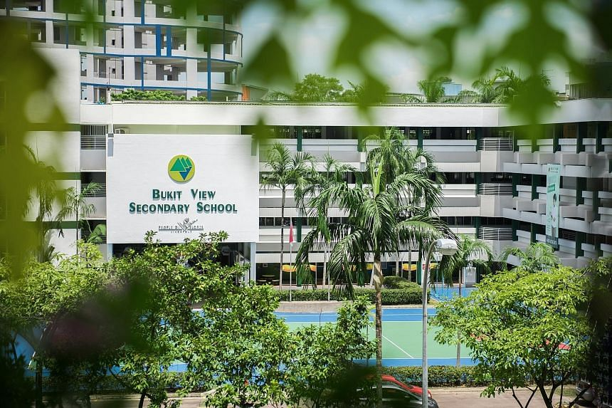 Bukit View Secondary School was told about the case on April 30. The school is monitoring the situation.