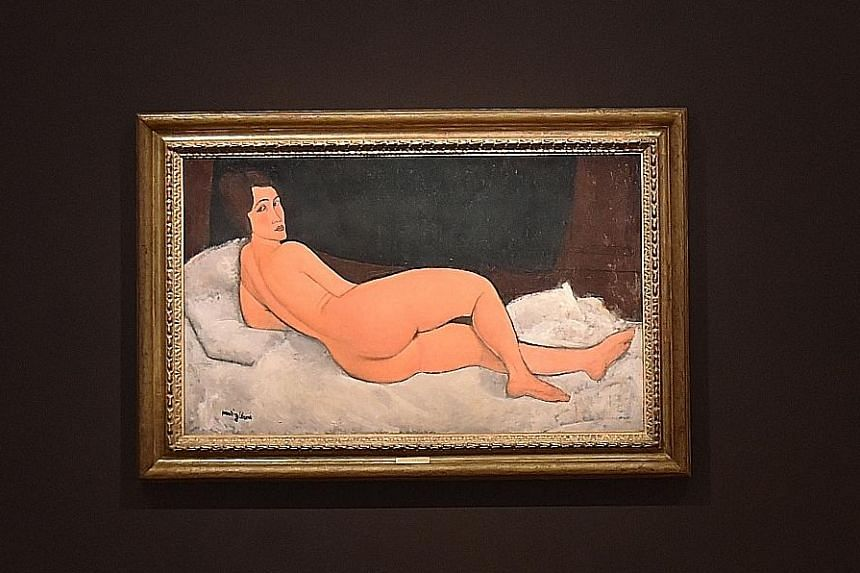 Amedeo Modigliani's Nu Couche is the largest painting produced by the artist.