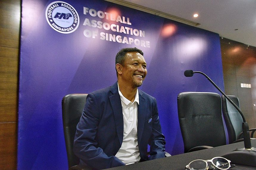 Fandi Ahmad is happy with his new role but has also said he will focus on the Under-23s after this year's AFF Cup so that the future coach will have quality players for selection.