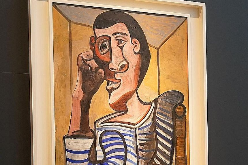 Picasso's Le Marin has been withdrawn from its auction so that it could be restored.