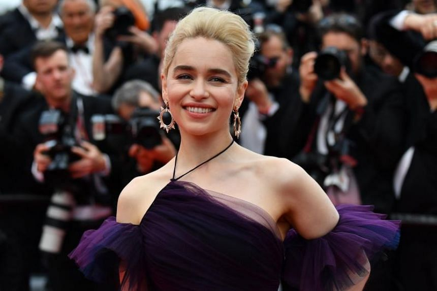 """Games of Thrones star Emilia Clarke said that by """"continuing to apply gentle pressure"""" women can prevent the movement losing momentum."""