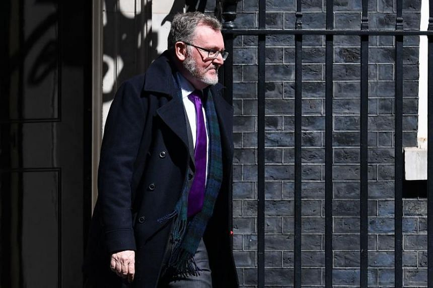 Britain's Scottish Secretary David Mundell said the UK intended to push through the withdrawal bill, but that the door was open for further talks.