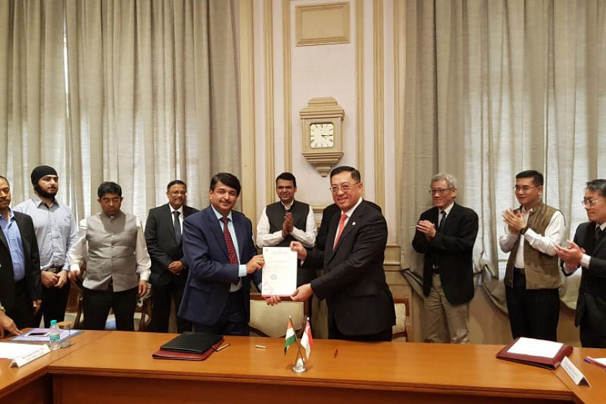 Minister-in-charge of Trade Relations S Iswaran and Maharashtra Chief Minister Devendra Fadnavis chaired the inaugural Maharashtra-Singapore Joint Committee meeting, where the two sides signed a framework agreement to facilitate Singapore investments