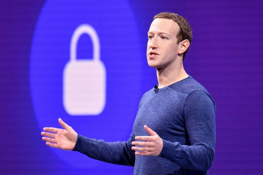 Facebook CEO Mark Zuckerberg speaking during a summit at the San Jose McEnery Convention Center in San Jose, California, on May 1, 2018.