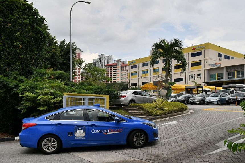 """In its first-quarter financial results announcement last Friday, ComfortDelGro directors said they expect the taxi business to stabilise with """"the rationalisation of the competition landscape in Singapore""""."""