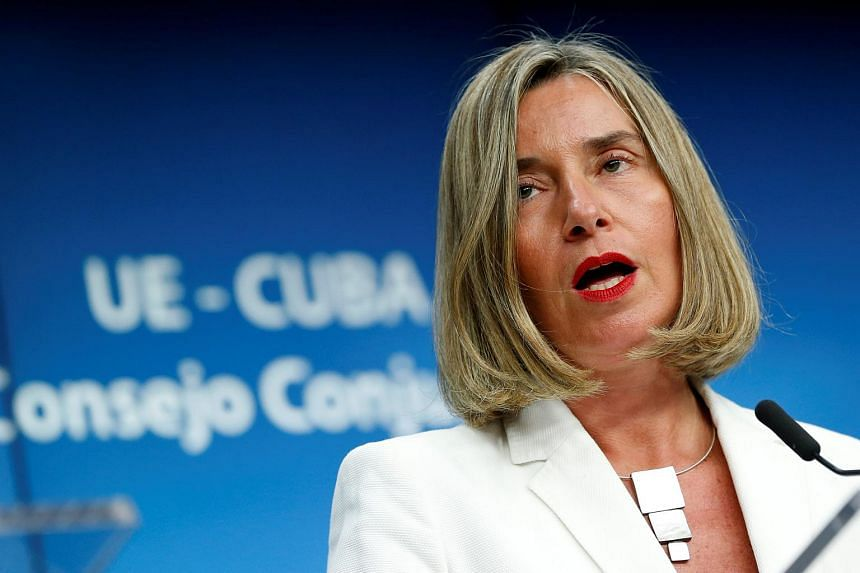 EU foreign policy chief Federica Mogherini said that European powers had agreed to find practical solutions to the issue over the coming weeks.