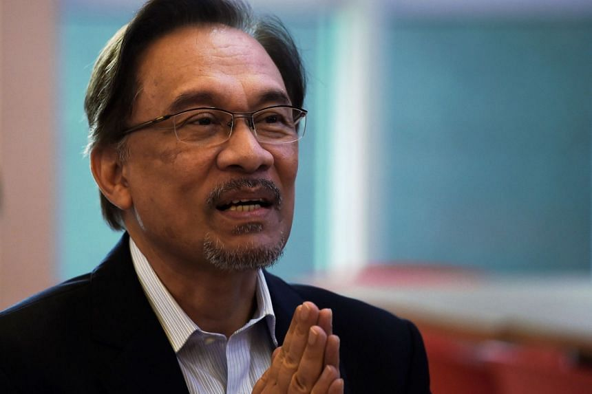 """Mr Anwar Ibrahim (above) said that after working with Dr Mahathir Mohamad for many years he understands """"that he cares deeply about Malaysia and the people of Malaysia""""."""