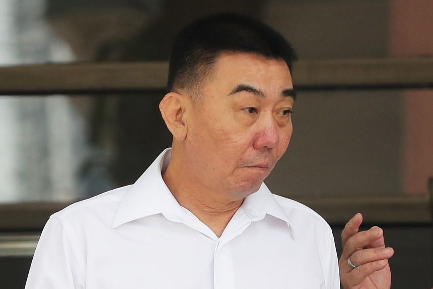 Businessman Lim Hong Liang (top) and mover Ong Hock Chye (above) are on trial for alleged involvement in a conspiracy to cause grievous hurt to Mr Joshua Koh.