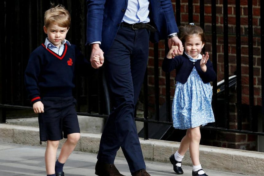 Princess Charlotte, 3, will be one of the bridesmaids while Prince George will be a page boy.