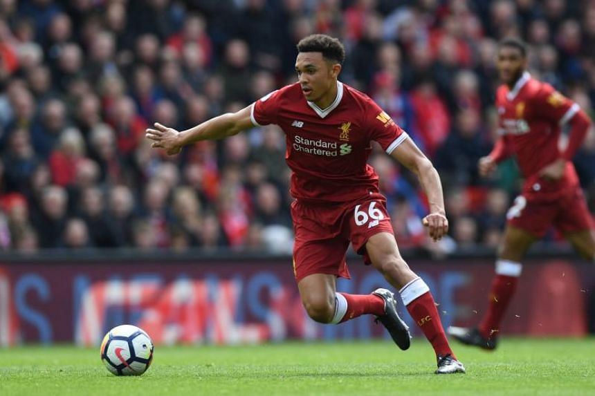 """Trent Alexander-Arnold's """"well deserved"""" call up came after his performances in Liverpool's run to the Champions League final."""