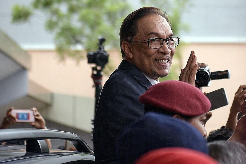 Datuk Seri Anwar Ibrahim, waving to his supporters after leaving hospital yesterday, said he needs time and space to rest with his family and to fulfil overseas teaching and speaking engagements.