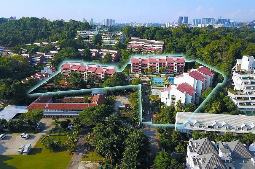 Flynn Park in Pasir Panjang, which has a minimum price of $363.8 million, is one of the five freehold residential sites launched by JLL for collective sale. The other sites are Cavenagh Gardens off Orchard Road, Rosalia Park near Serangoon Central, L
