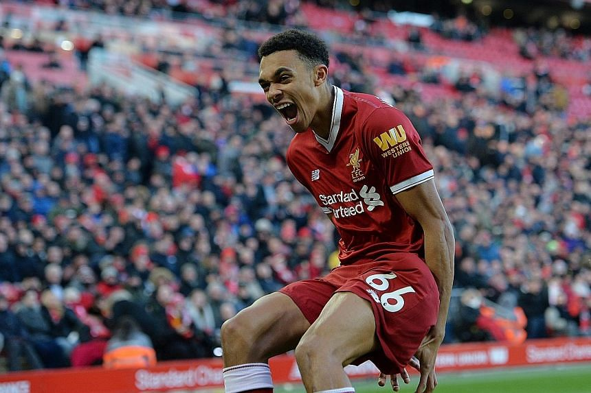 Liverpool's Trent Alexander-Arnold (above) and Chelsea's Ruben Loftus-Cheek are two of the relatively untested players named in Gareth Southgate's England squad. The manager, who will be leading his country at a World Cup for the first time as coach,