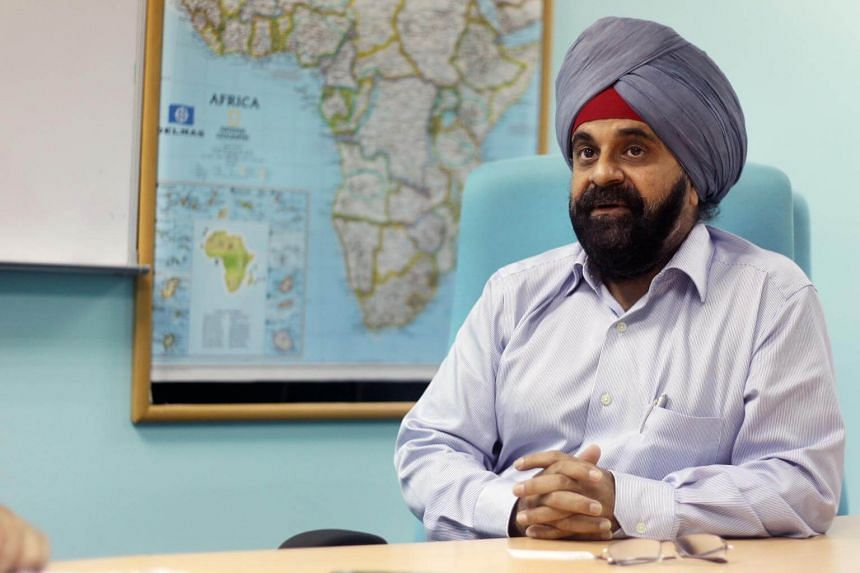 Mr Inderjit Singh laid out various ways that small and medium-sized enterprises (SMEs) could help themselves and one another.