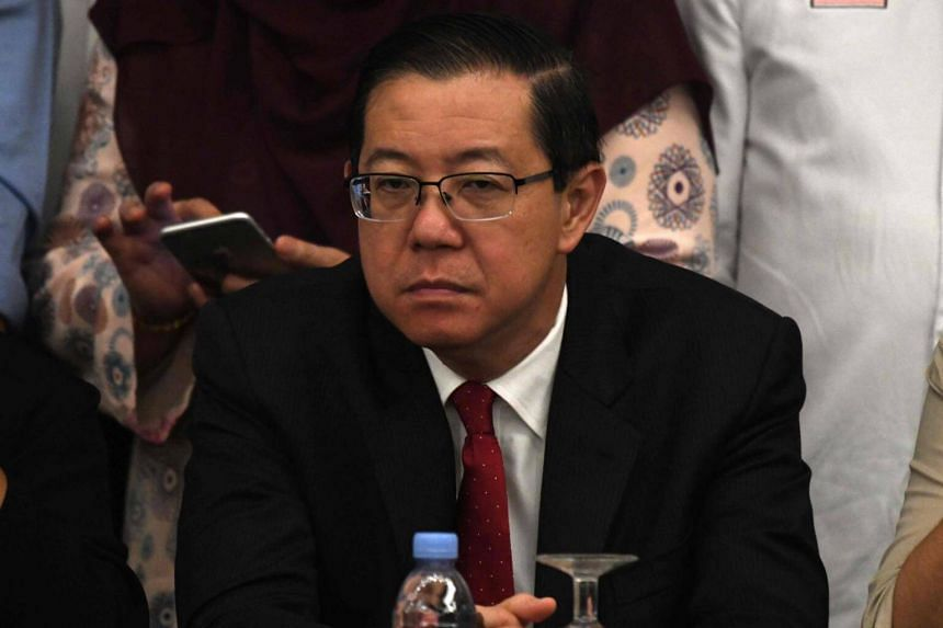 Former Penang chief minister Lim Guan Eng at a press conference in Kuala Lumpur on May 10, 2018.
