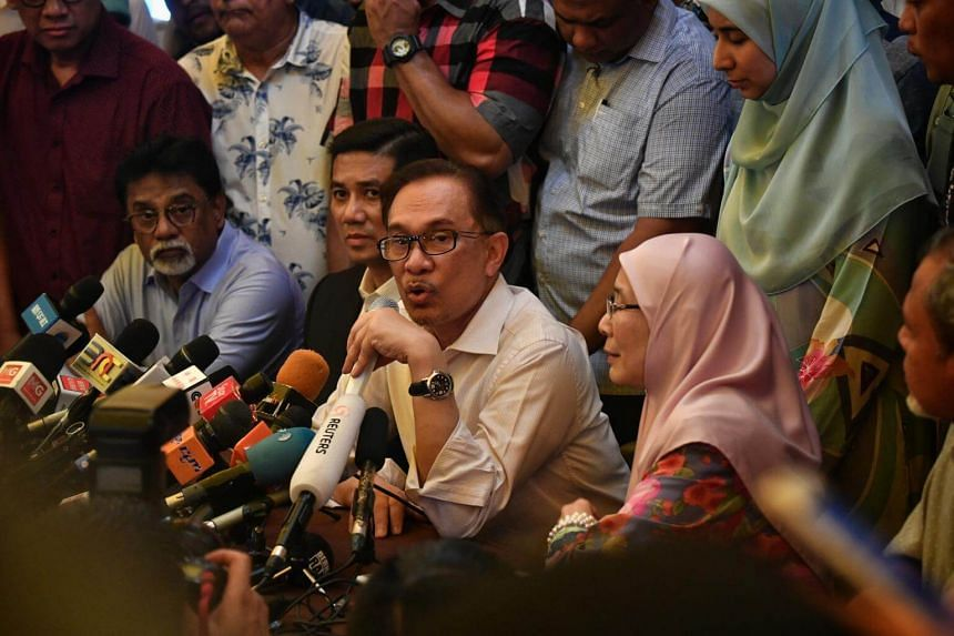 This will be the first official meeting between all Pakatan leaders since Datuk Seri Anwar Ibrahim's (centre) release on May 16.