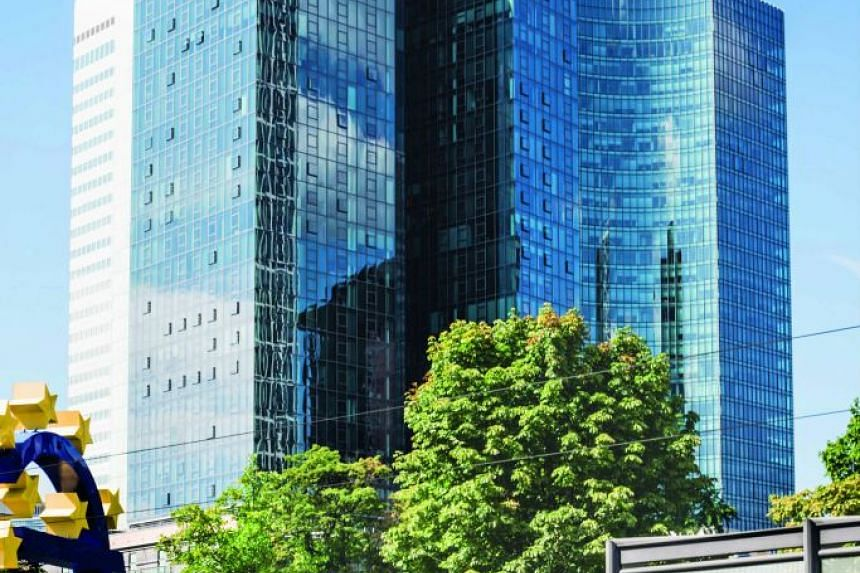 The 38-storey Gallileo is located in Frankfurt's prime central business district.