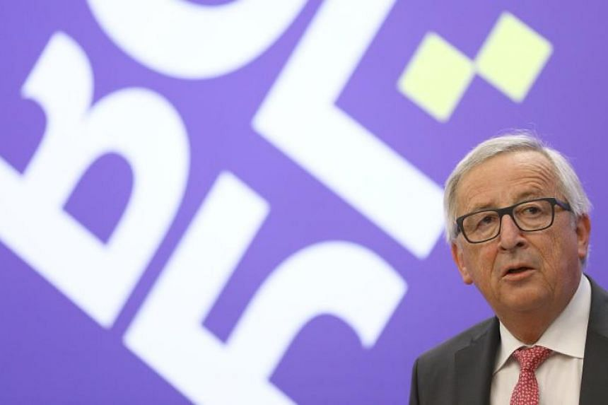 European Commission chief Jean-Claude Juncker said the 'blocking statute' will be done on May 18, 2018, at 10.30 in the morning.