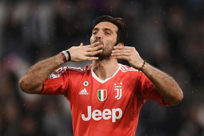 Gianluigi Buffon captained Juventus to a seventh straight Serie A title and fourth consecutive Italian Cup triumph this season.