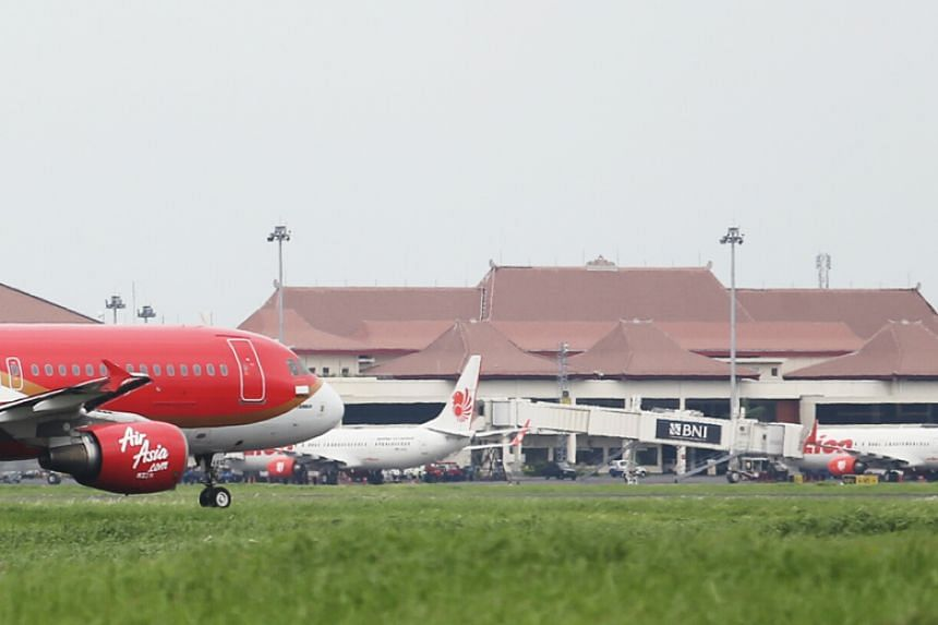 The on-time performance for Surabaya's Juanda International Airport was ranked at 95.5 per cent, higher than Singapore's Changi International Airport's 87.1 per cent.