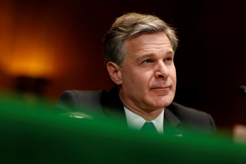 """Federal Bureau of Investigation (FBI) director Christopher Wray said lone wolf terrorists are the FBI's """"highest counter-terrorism priority at the moment""""."""