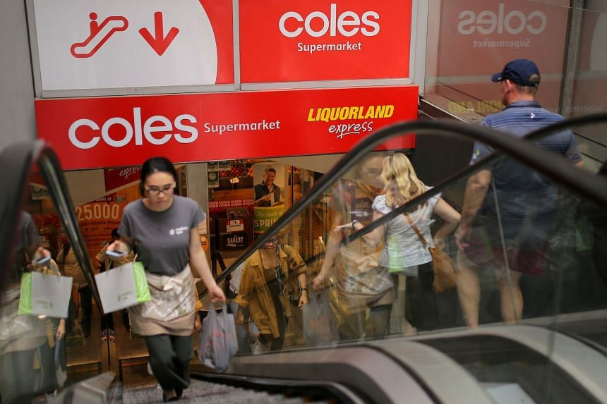 Coles removed baby formula from the aisles following a report of customers clearing shelves and reselling it online in China at inflated prices.
