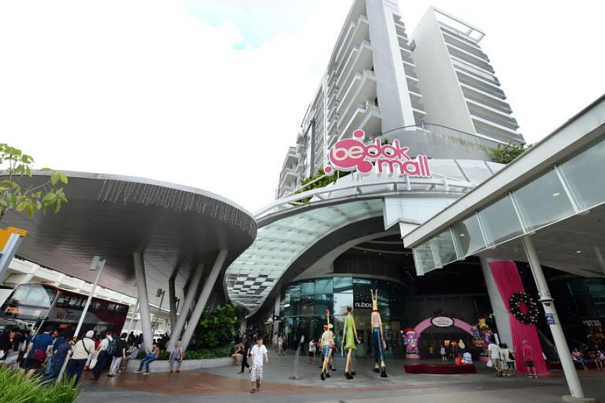 Police said they were alerted to an incident at Bedok Mall at about 2pm on May 17, 2018.