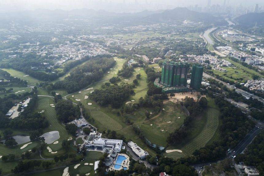 The Hong Kong Golf Club has become the focal point of a raging, citywide debate about how to use Hong Kong's scarcest and most valuable resource, land.