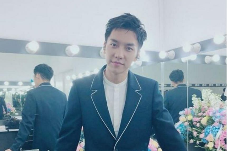 Lee Seung Gi last met fans in Singapore at an event in 2013.