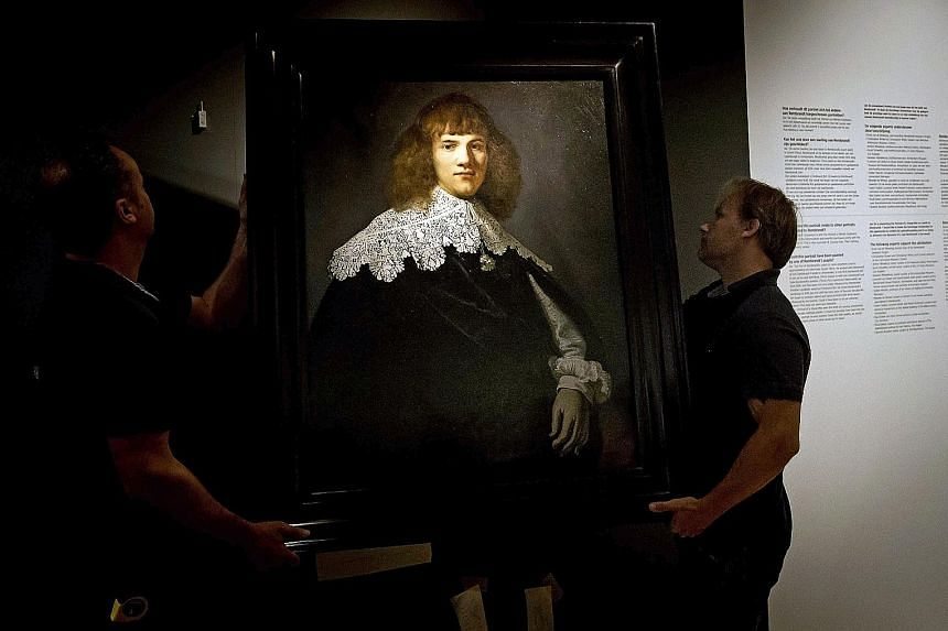 A Dutch art dealer noticed that in this portrait, the young man wore a collar painted in a style that only Rembrandt used. Kim Kardashian West has more than 111 million Instagram followers.