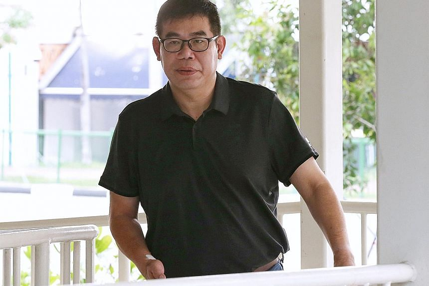 The court heard that Reichie Chng Teck Kiam used the money largely to sustain his gambling habit.