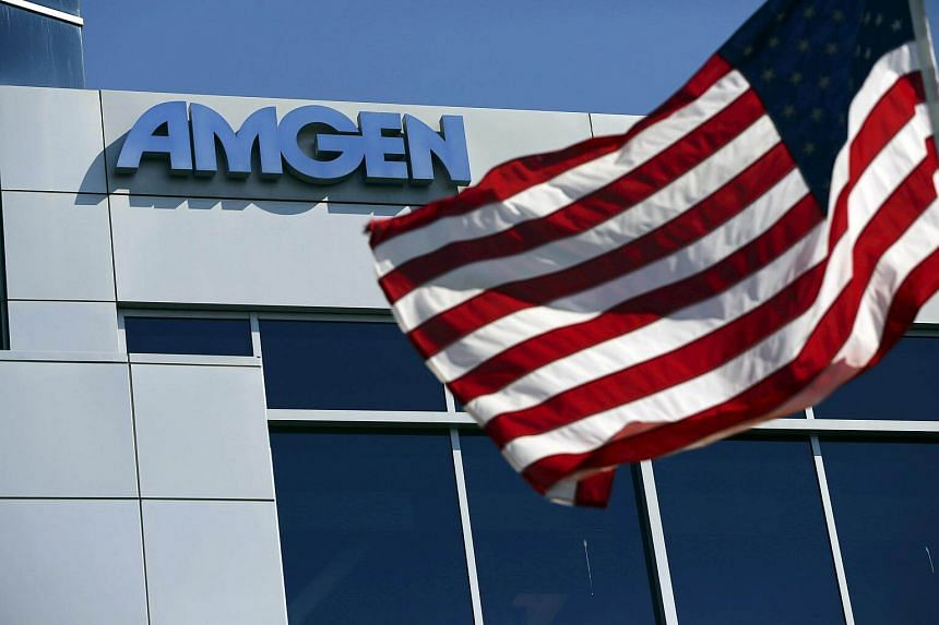 Amgen Inc's drug, Aimovig, will have a list price of US$6,900 (S$9,300) a year.